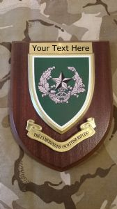 Cameronians Scottish Rifles Personalised Military Wall Plaque